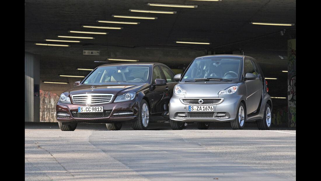 Mercedes C-Klasse, Smart, Frontansicht