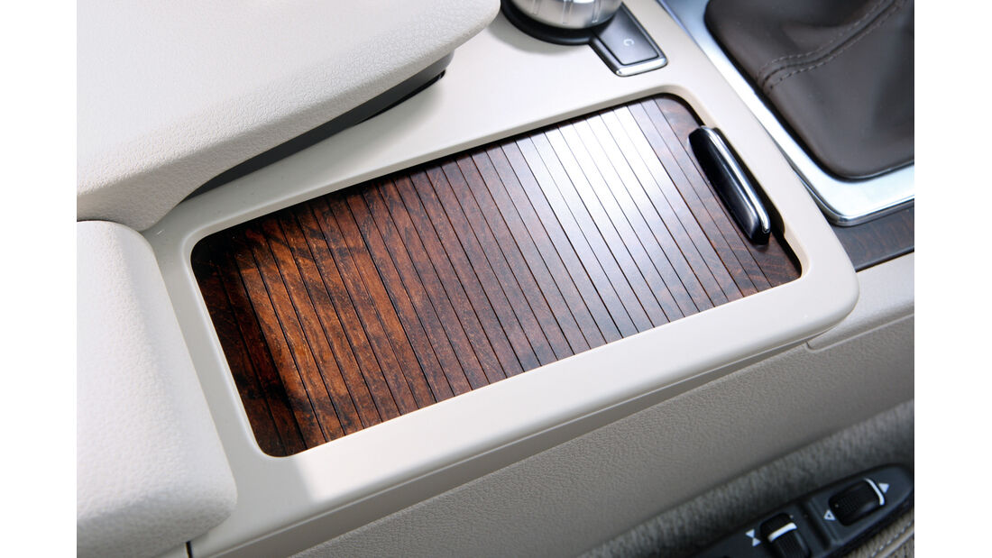 Mercedes C-Klasse, Smart, Holzdekor