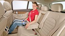 Mercedes C-Klasse T-Modell, Fondsitz, Beinfreiheit