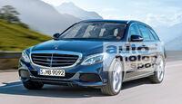 Mercedes C-Klasse T-Modell, Frontansicht