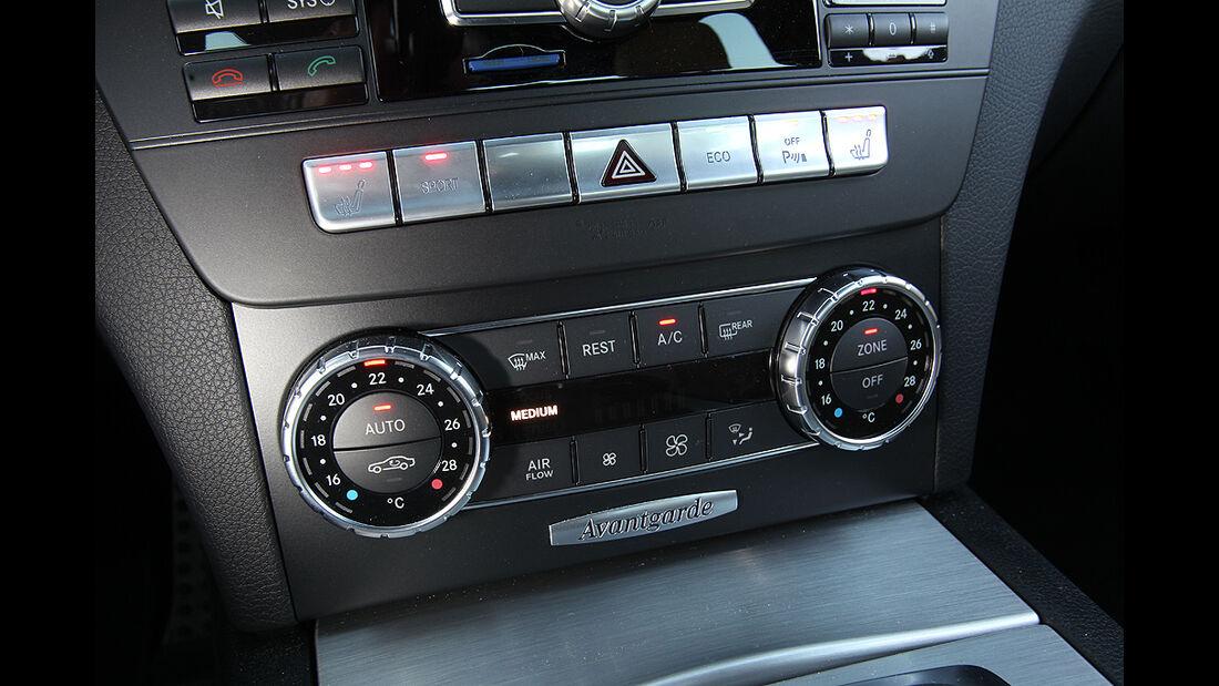 Mercedes C-Klasse T-Modell, Innenraum, Klimaanlage