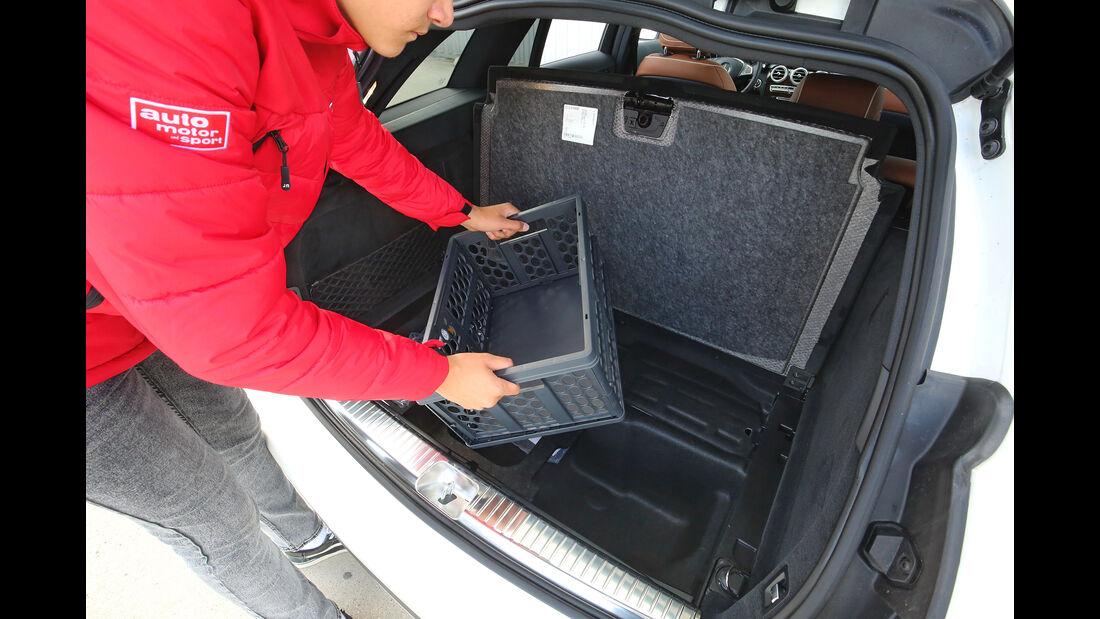 Mercedes C-Klasse T-Modell, Interieur, Kofferraum