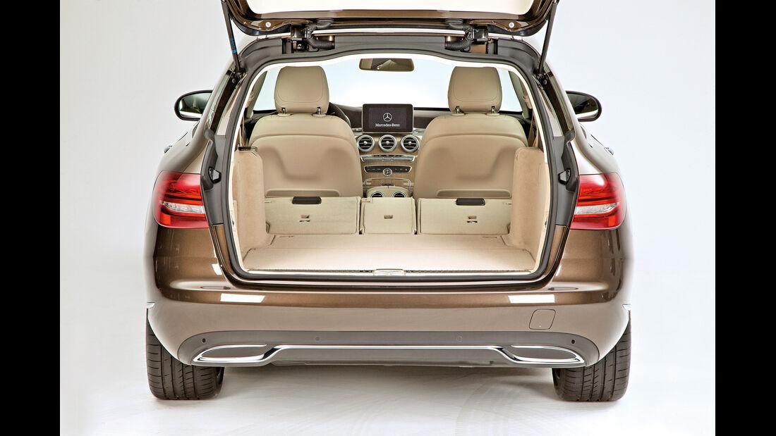 Mercedes C-Klasse T-Modell, Kofferraum