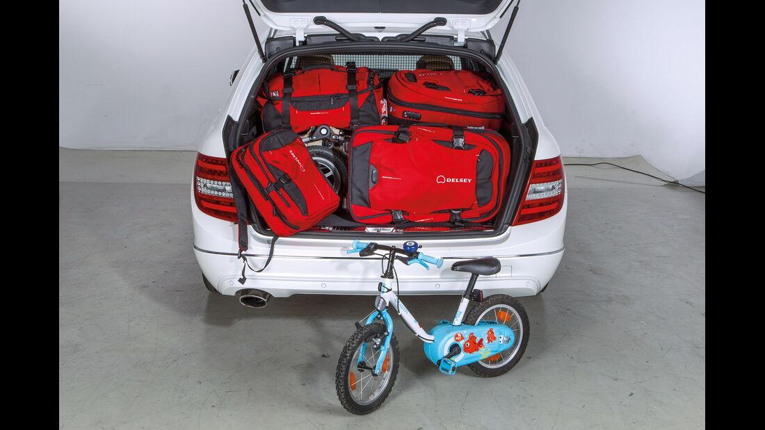 Mercedes C-Klasse T-Modell, Kofferraum, Ladevolumen