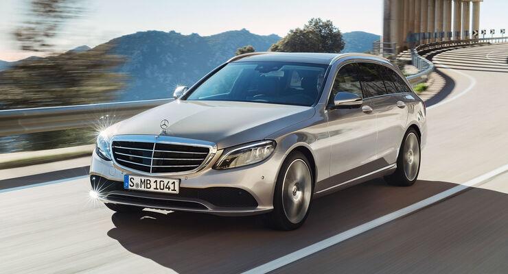 Mercedes C-Klasse Facelift W205 (2018): Bilder, Marktstart - auto ...