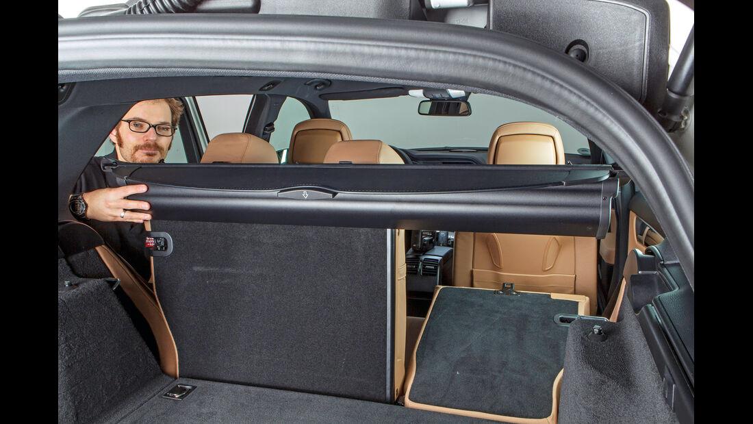 Mercedes C-Klasse T-Modell, Laderaumrollo