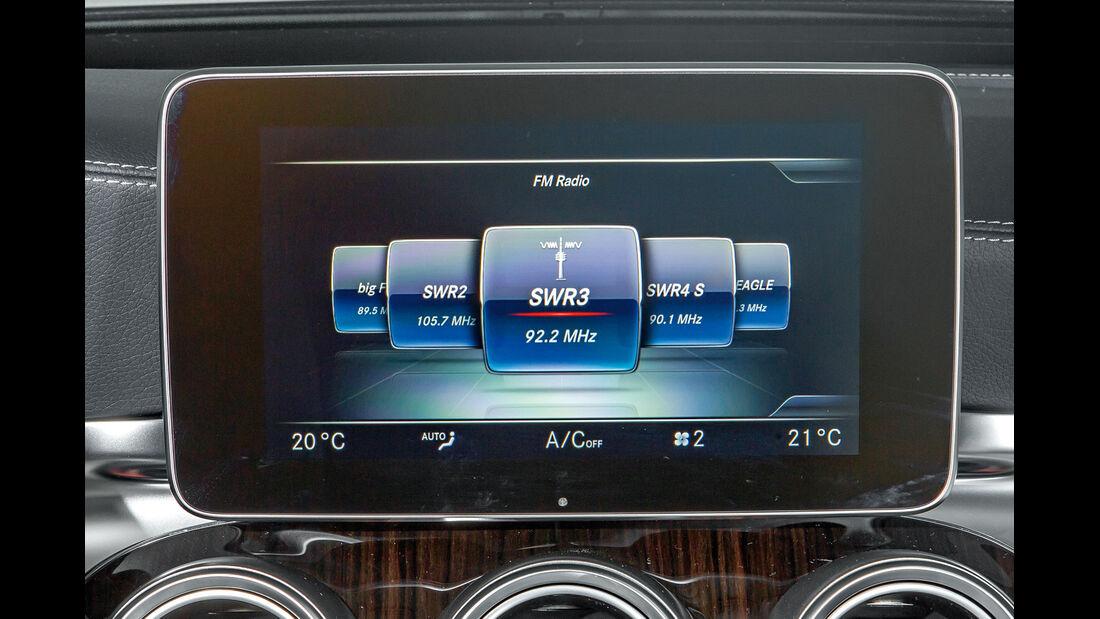 Mercedes C-Klasse T-Modell, Radio