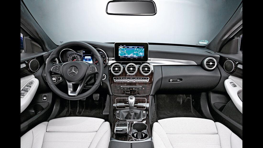 Mercedes C-Klasse T, ams1115, Cockpit