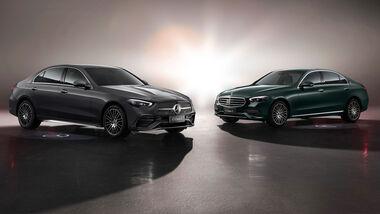 Mercedes C-Klasse W 206 LWB China Shanghai 2021