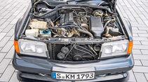 Mercedes C-Klasse, W201, Motor
