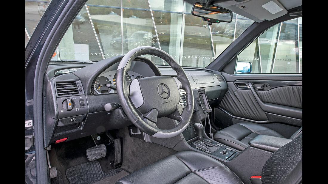 Mercedes C-Klasse, W202, Cockpit