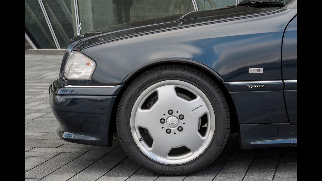 Mercedes C-Klasse, W202, Rad, Felge, Bremse