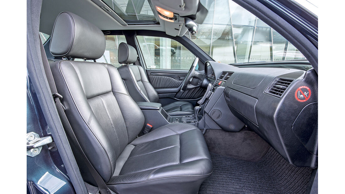 Mercedes C-Klasse, W202, Sitze, Interieur