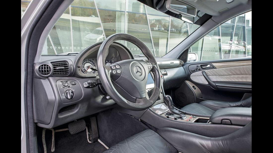 Mercedes C-Klasse, W203, Cockpit