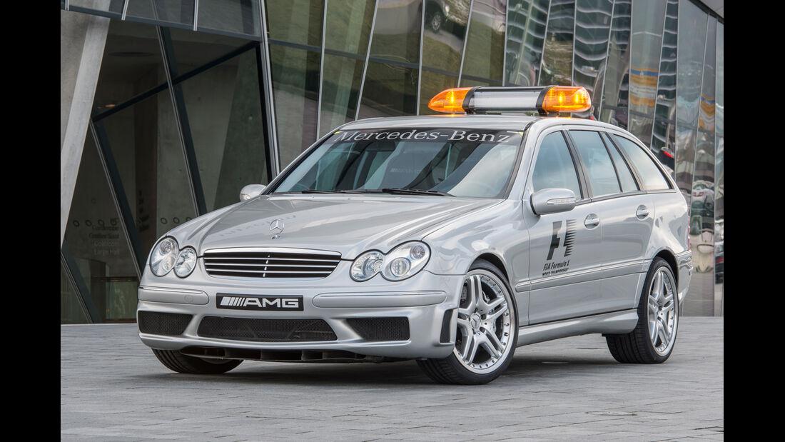 Mercedes C-Klasse, W203, Frontansicht