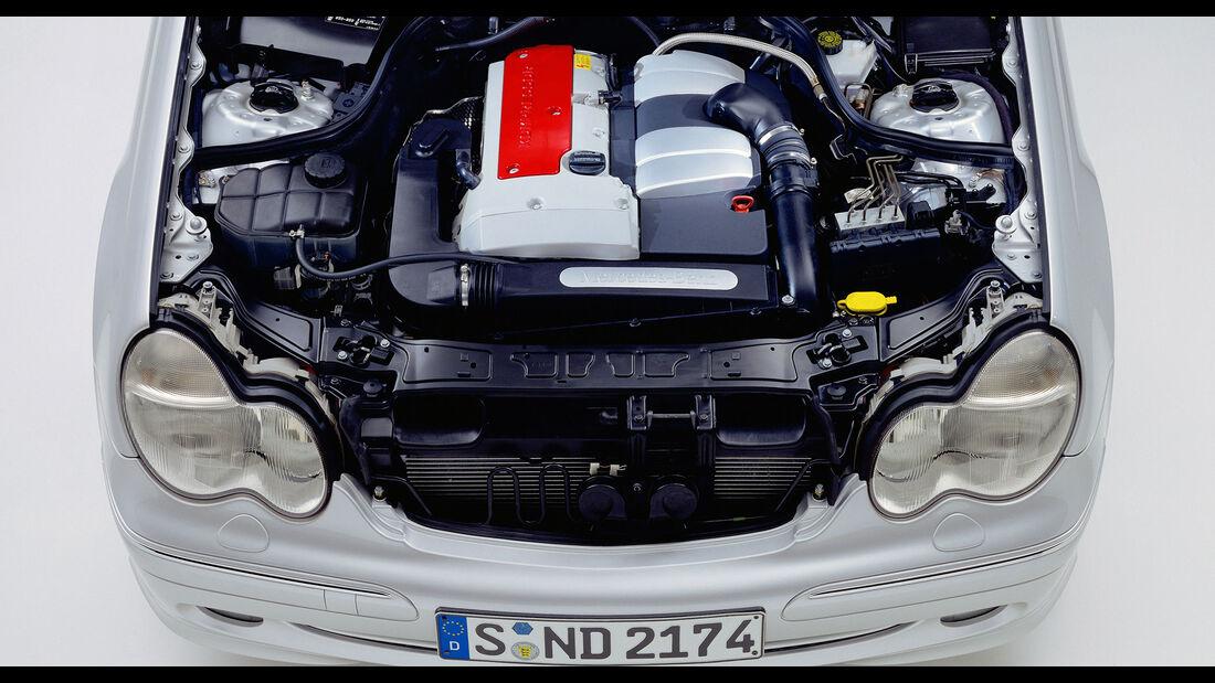 Mercedes C-Klasse W203 M111 Evo Kompressor-Vierzylinder-Motor