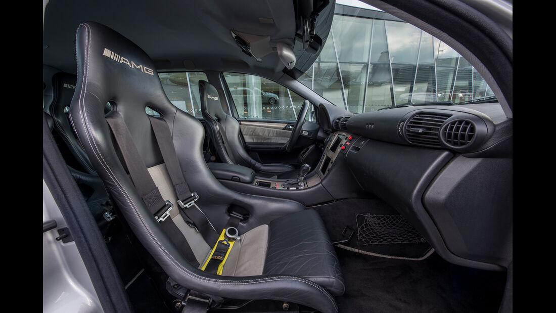 Mercedes C-Klasse, W203, Sitze, Interieur