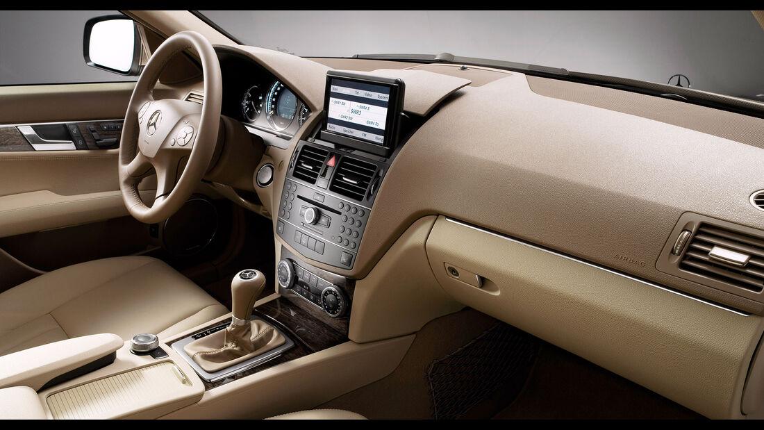 Mercedes C-Klasse W205 Elegance Interieur
