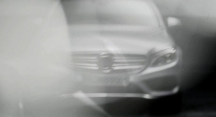 Mercedes C-Klasse W205 Teaser