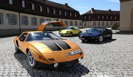 Mercedes C111, Frontansicht