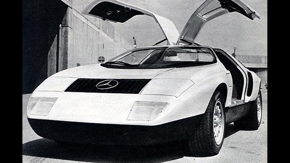 Mercedes, C111, IAA 1969