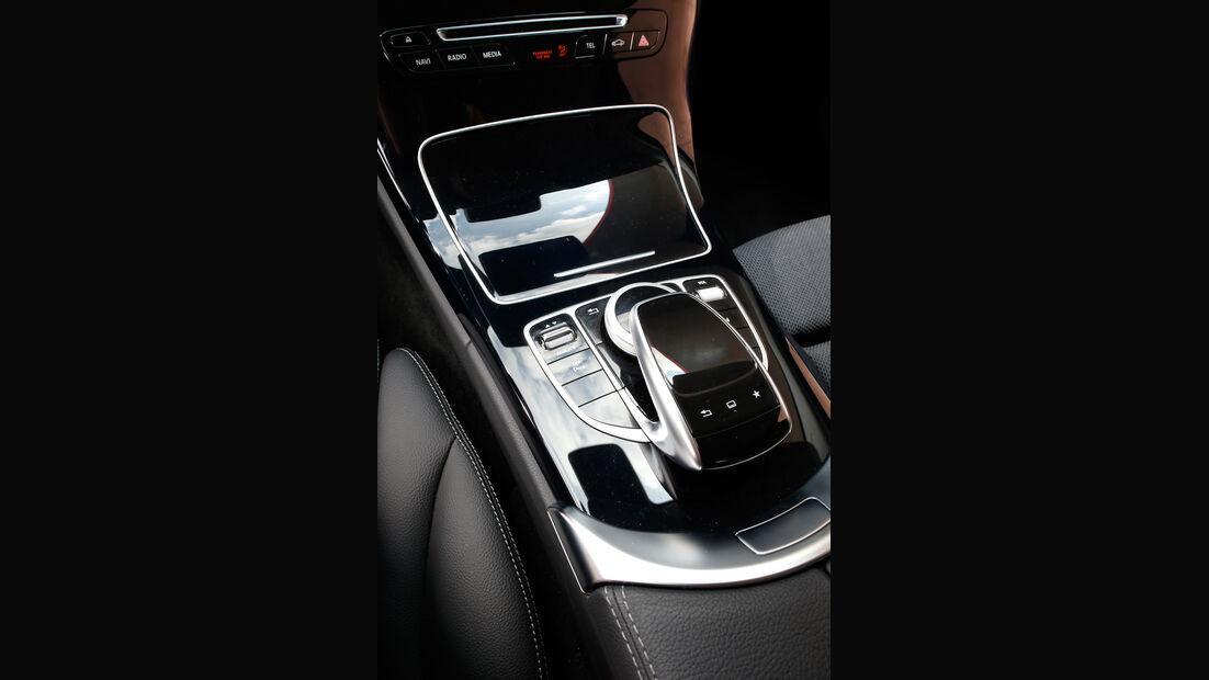 Mercedes C220 Bluetec, Bedienelemente