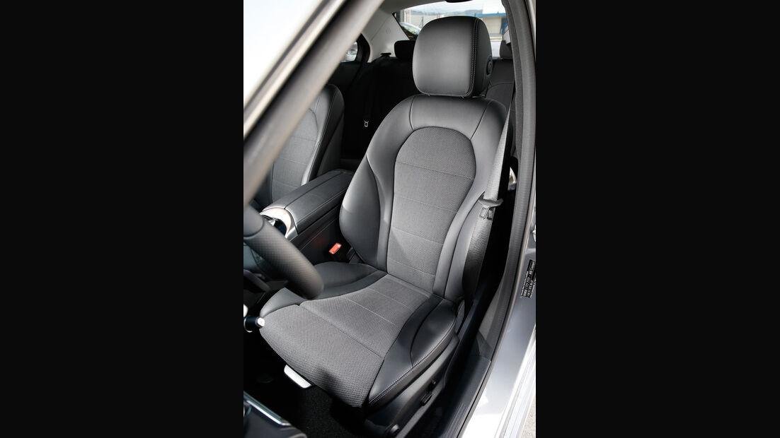 Mercedes C220 Bluetec, Fahrersitz