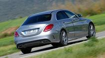 Mercedes C220 Bluetec, Heckansicht
