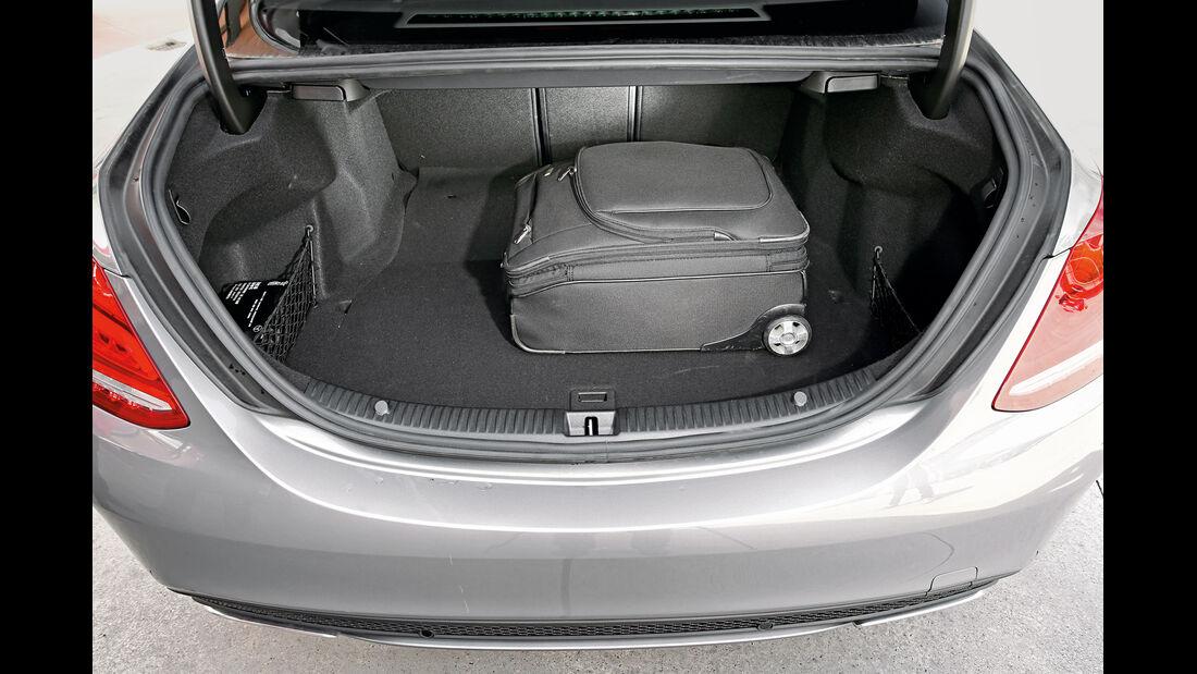 Mercedes C220 Bluetec, Kofferraum