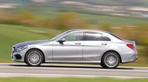 Mercedes C220 Bluetec, Seitenansicht