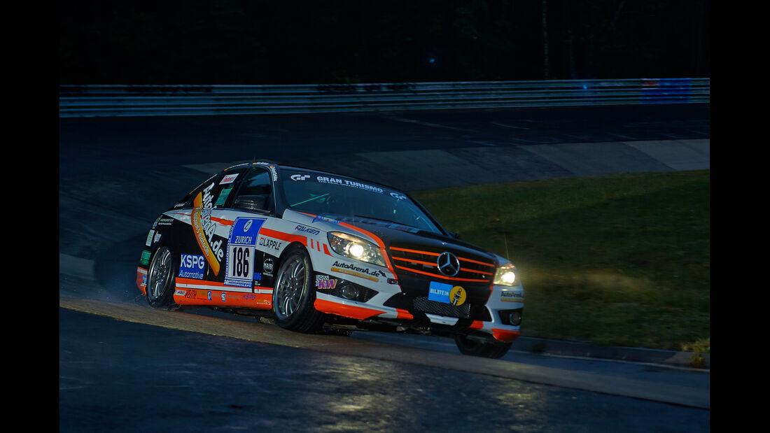 Mercedes C230 - Team AutoArena Motorsport - #186 - 24h-Rennen Nürburgring 2014 -  Qualifikation 1
