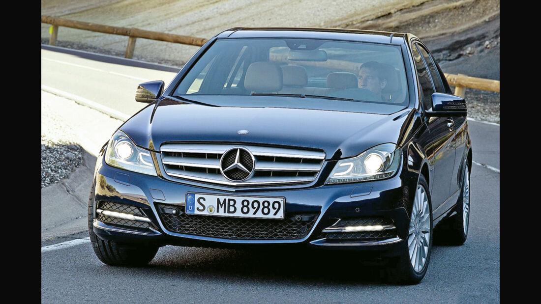Mercedes C350 BlueEffi ciency