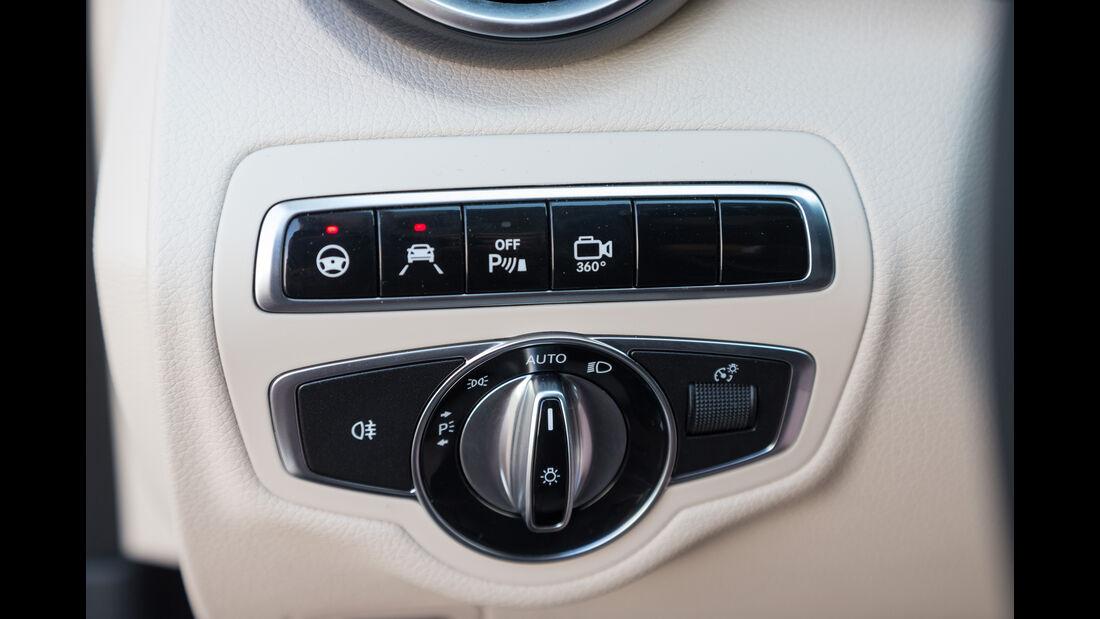 Mercedes C400 4Matic, Bedienelement