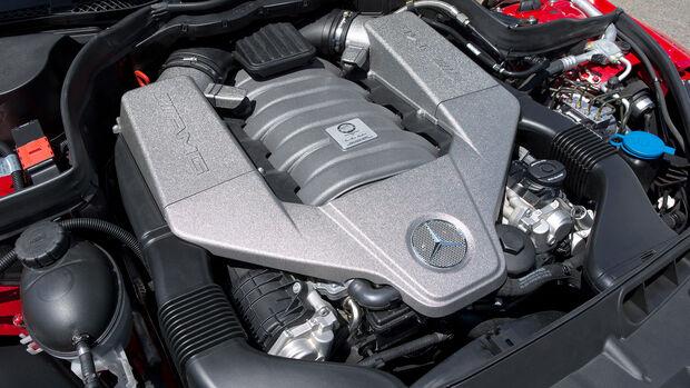 Mercedes C63 AMG Black Series V8-Motor