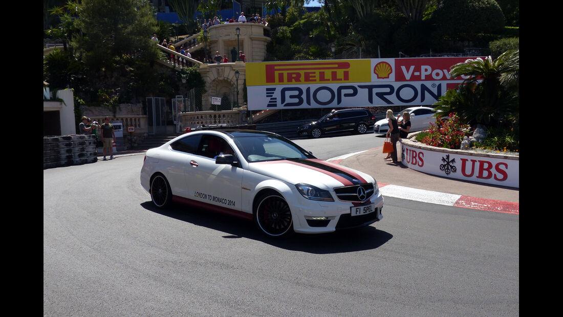 Mercedes C63 AMG - Car Spotting - Formel 1 - GP Monaco - 25. Mai 2014