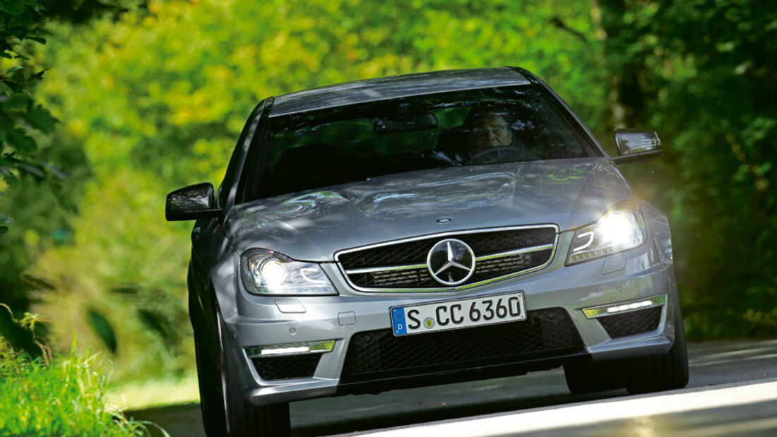 Mercedes C63 AMG Coupe Performance Package, Frontansicht