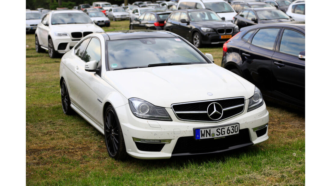 Mercedes C63 AMG - Fan-Autos - 24h-Rennen Nürburgring 2018 - Nordschleife