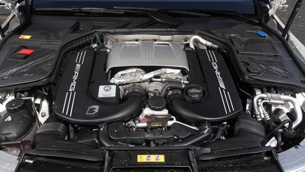 Mercedes C63 AMG/S von B&B Tuning