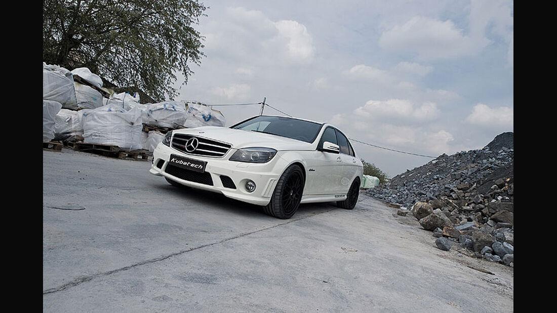 Mercedes C63 AMG mcchip-dkr, Front