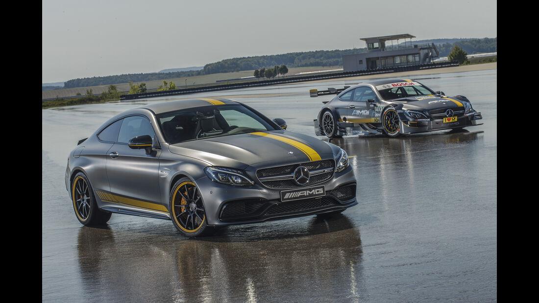 Mercedes C63 DTM Renncoupé & Mercedes C63 Coupé AMG Edition 1