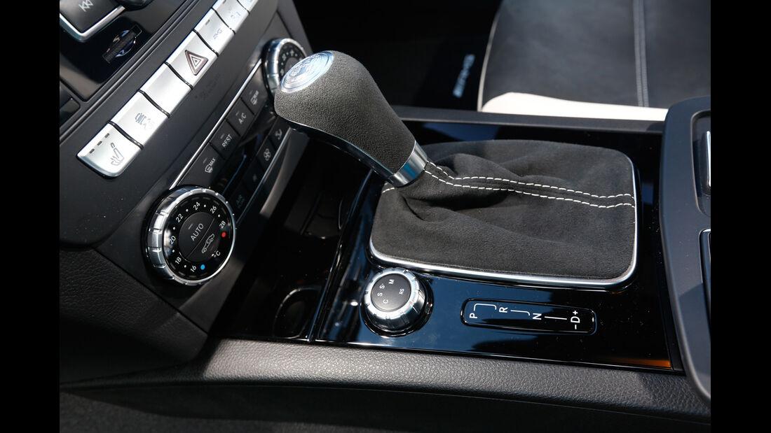 Mercedes C63 Edition 507, Schalthebel