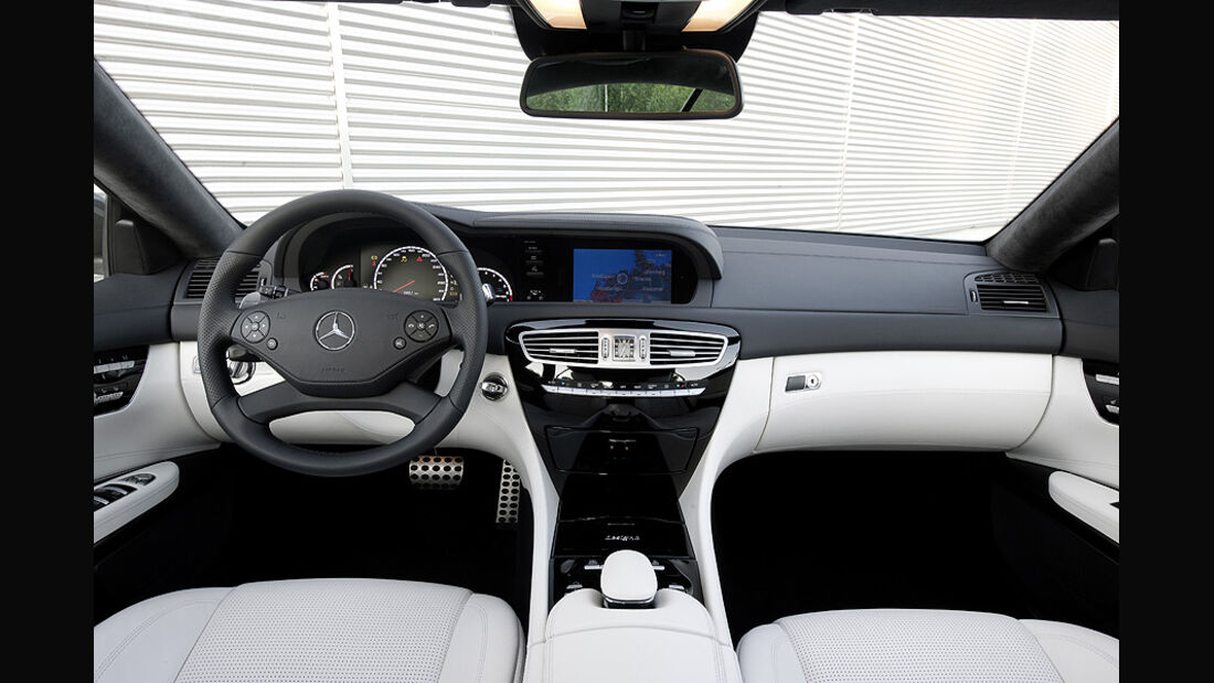 Mercedes CL 63 AMG, CL-Klasse, Innenraum