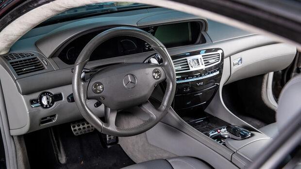 Mercedes CL 65 AMG, Interieur