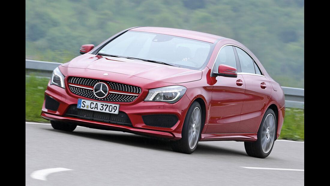 Mercedes CLA 180 CDI, Frontansicht