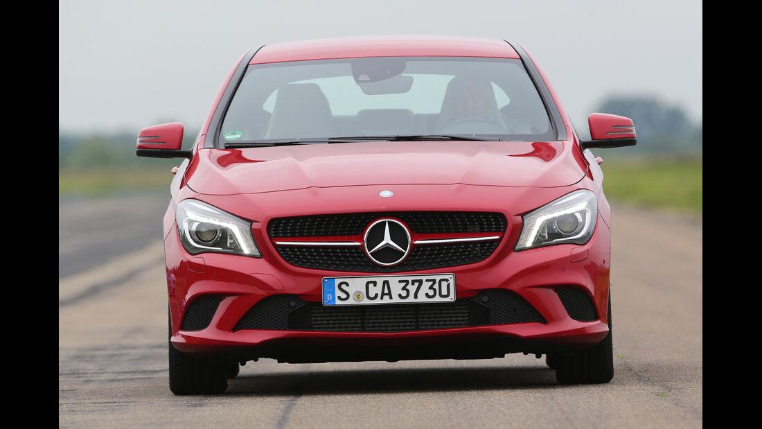 Mercedes CLA 180, Frontansicht