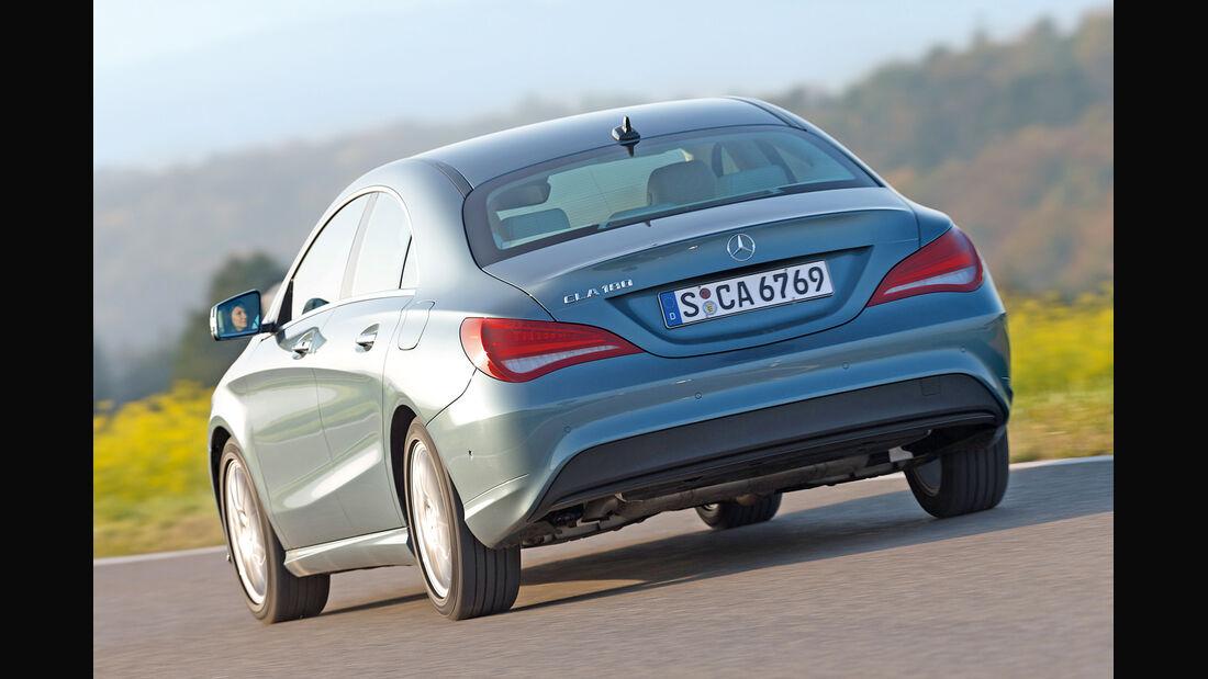 Mercedes CLA 180, Heckansicht