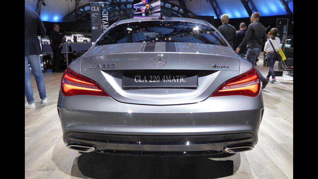 Mercedes CLA 220 - Auspuff - IAA Frankfurt 2017