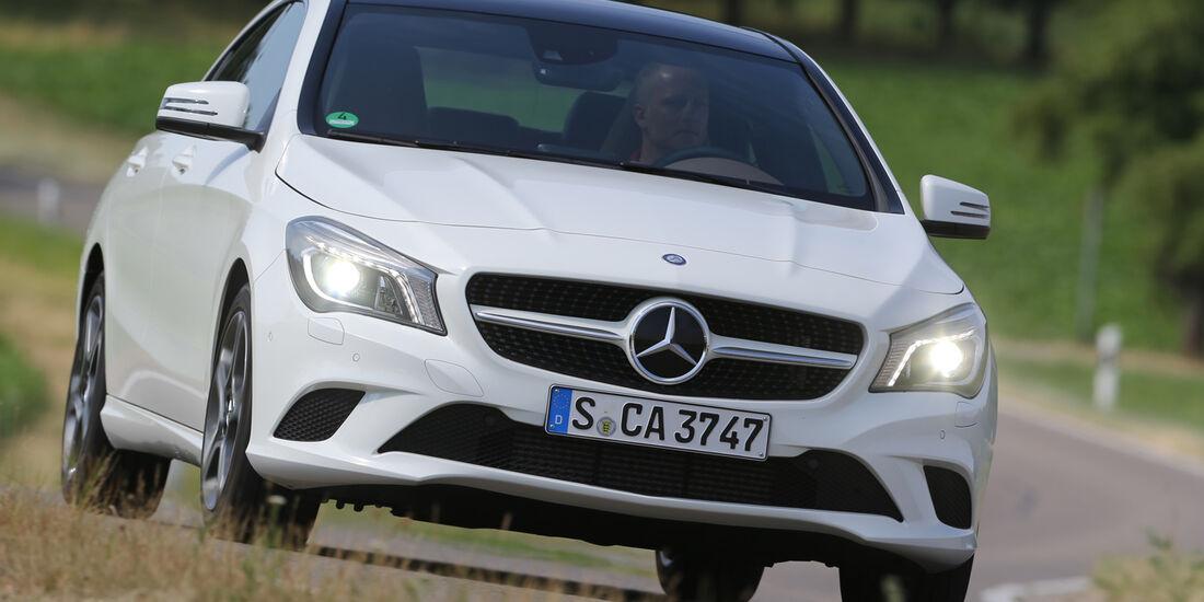 Mercedes CLA 220 CDI, Frontansicht