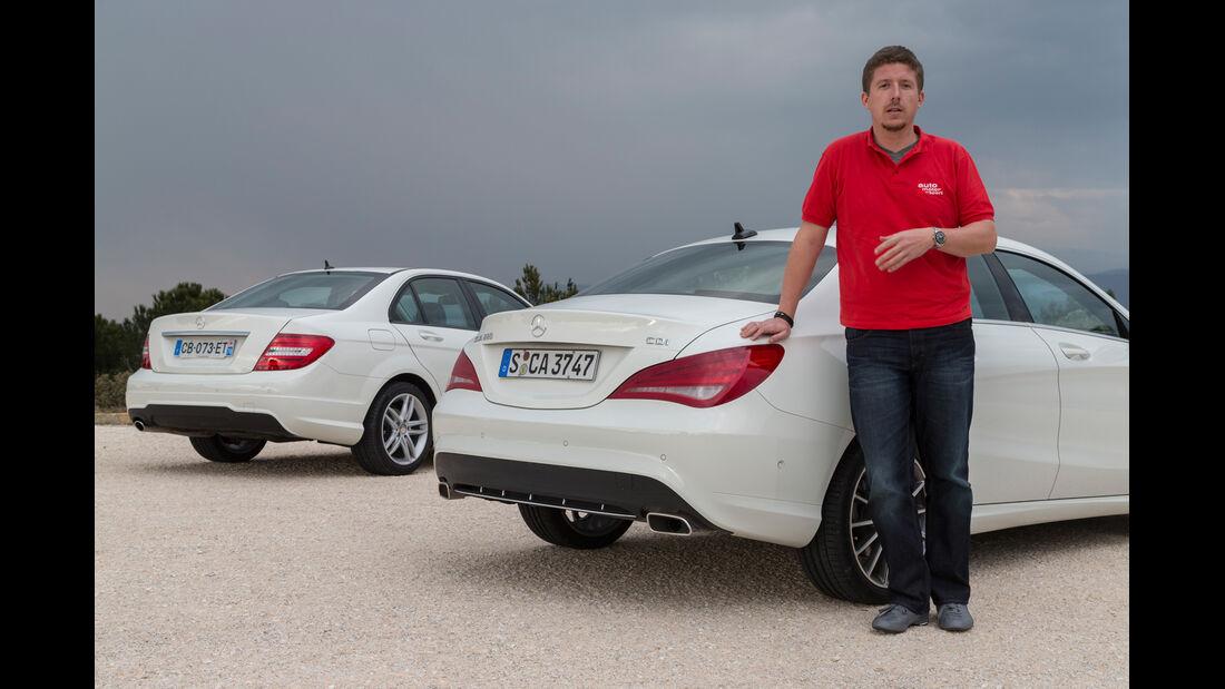 Mercedes CLA 220 CDI, Mercedes C 200 CDI, Jens Dralle