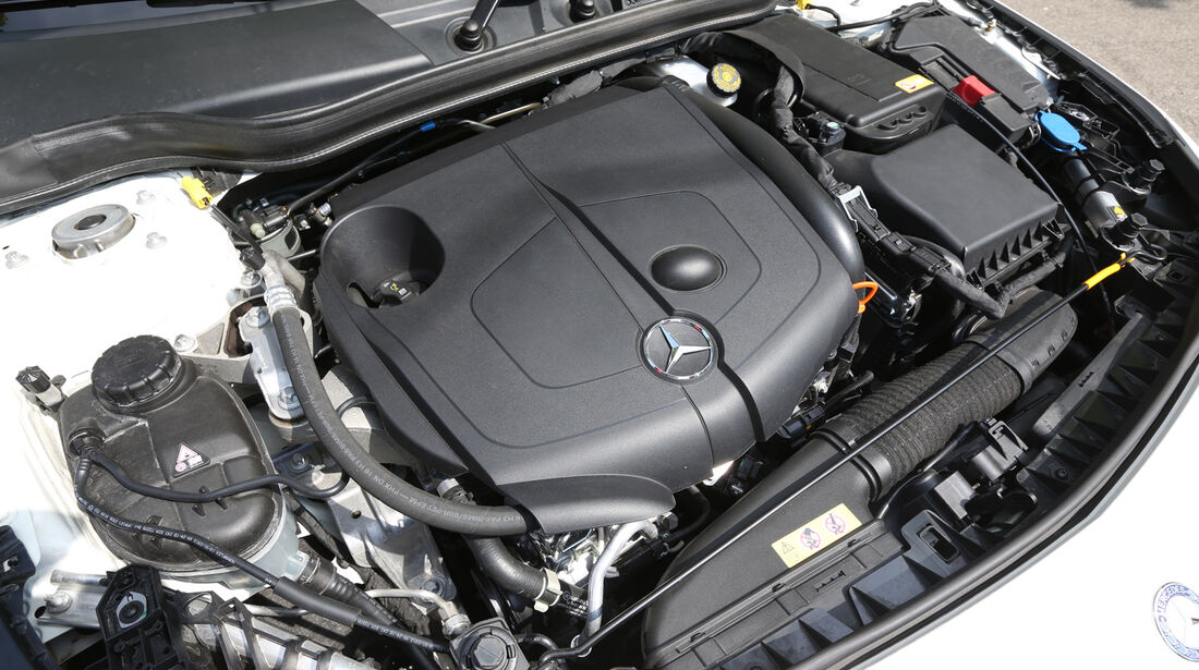 Mercedes CLA 220 CDI, Motor